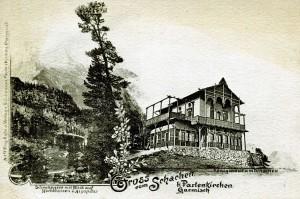Das Königshaus am Schachen um 1890
