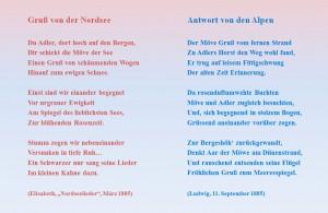 Ludwig und Sisi schrieben einander Gedichte