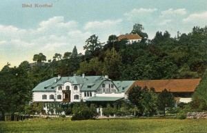 Kurhotel Bad Kochel AK um 1900