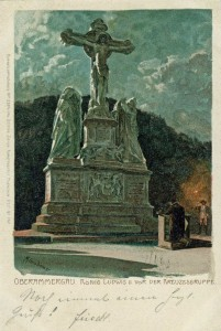 "Diemers ""Königsgebet"" AK gel 1900 (Sammlung H.K.)"