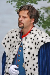 Volksschauspieler Josef Daser als Ludwig II.