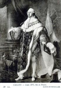 Ludwigs Namenspate: Bourbonenkönig Ludwig XVI. (1754-1793) - AK um 1900 (Sammlung HK)