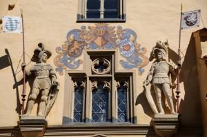Ritterromantik im Stil des Historismus (Foto: H.K.)