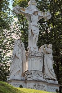 Die Kreuzigungsgruppe von Oberammergau (Foto: H.K.)