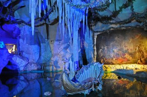 Venusgrotte in Capri-Blau (Foto: HK)