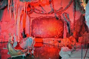 Venusgrotte in Rot (Foto: HK)