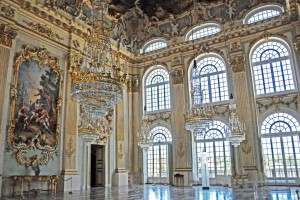 Der Steinerne Saal, wo Ludwig getauft wurde (Foto: H.K.)