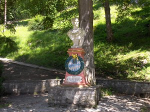 Ludwig-Büste in Partenkirchen (Foto: Susanne Nebl)
