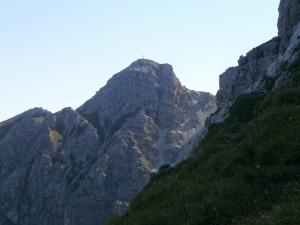 Schöttlkarspitze im Karwendelgebirge (Foto: Magdalena Sailer)