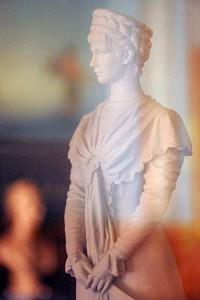 Sisi-Statuette von Klotz im Casino (Foto: HK)
